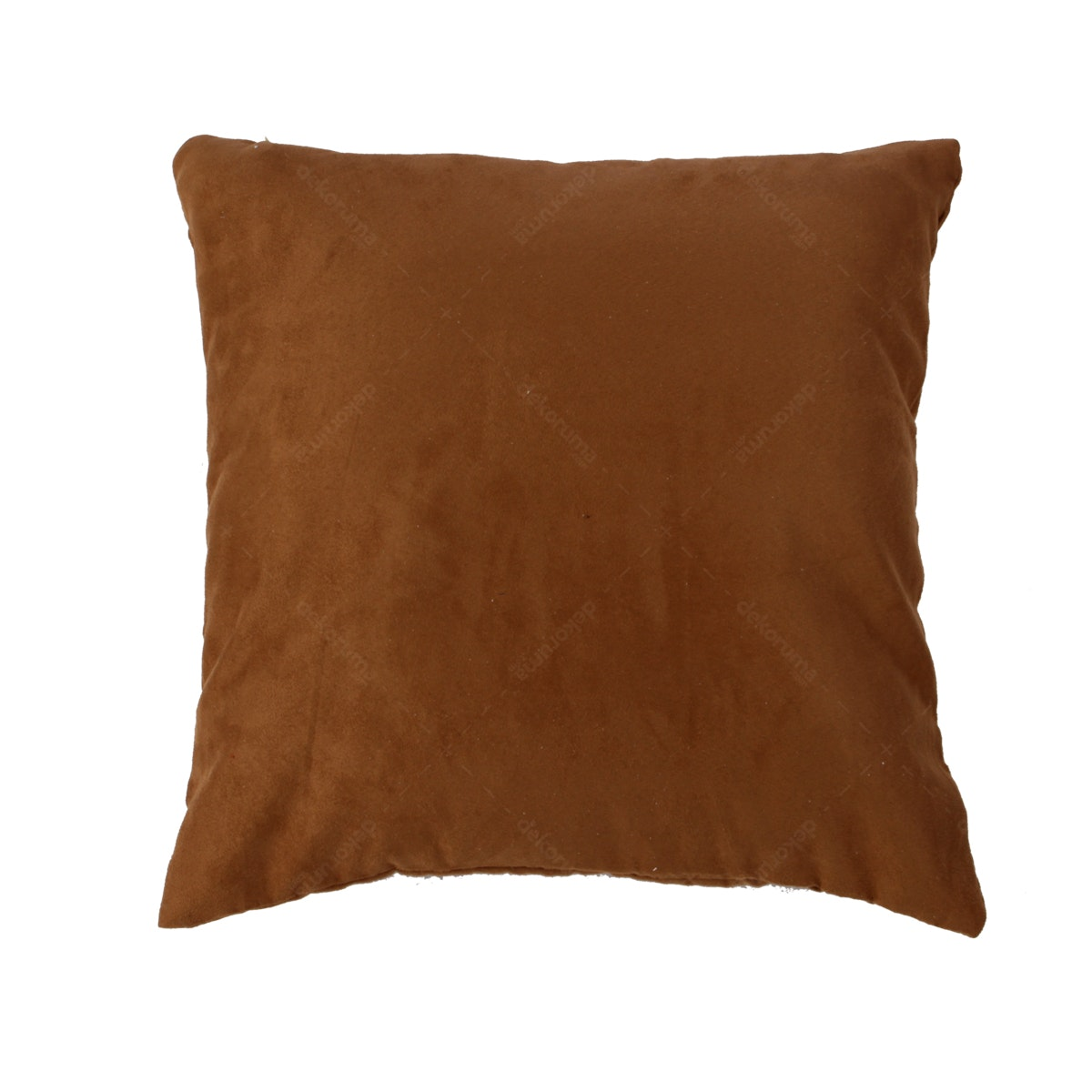 Maiika Plan Suede Brown Cover Pillow 45x45cm