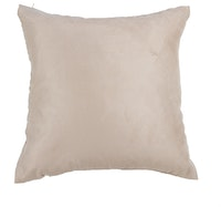 Maiika Plan Suede Cream Cover Pillow 45x45cm