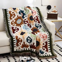 Maiika Tapestri Vasa 2- Warna-warni- Throw Blanket 180x230 CM