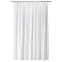 IKEA Bjarsen Shower curtain, white