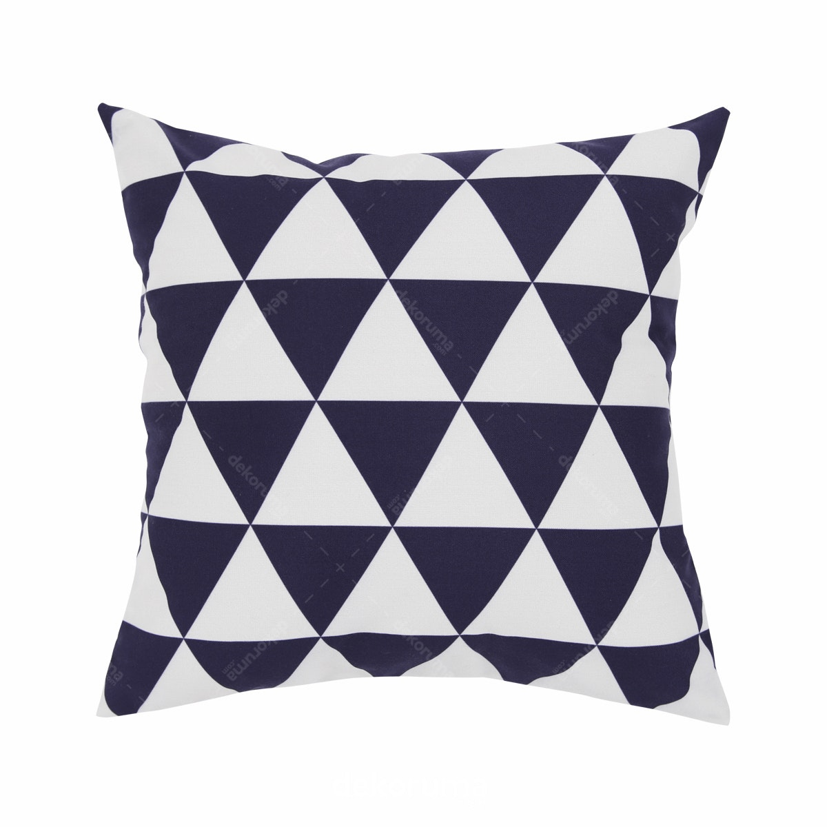 Hello Ilmare Cushion Triangle Blue