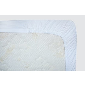 Indolinen Fitted Sheet - Sprei Queen 160x200x30 TC-300