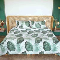 Indolinen Bed Set Palm Berry Green Deluxe - Single