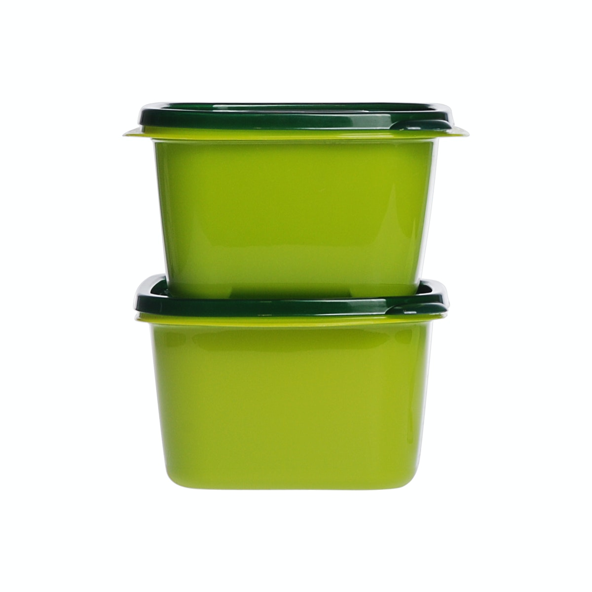 Informa Kay Food Container Sqr 1L Grn Set (2)