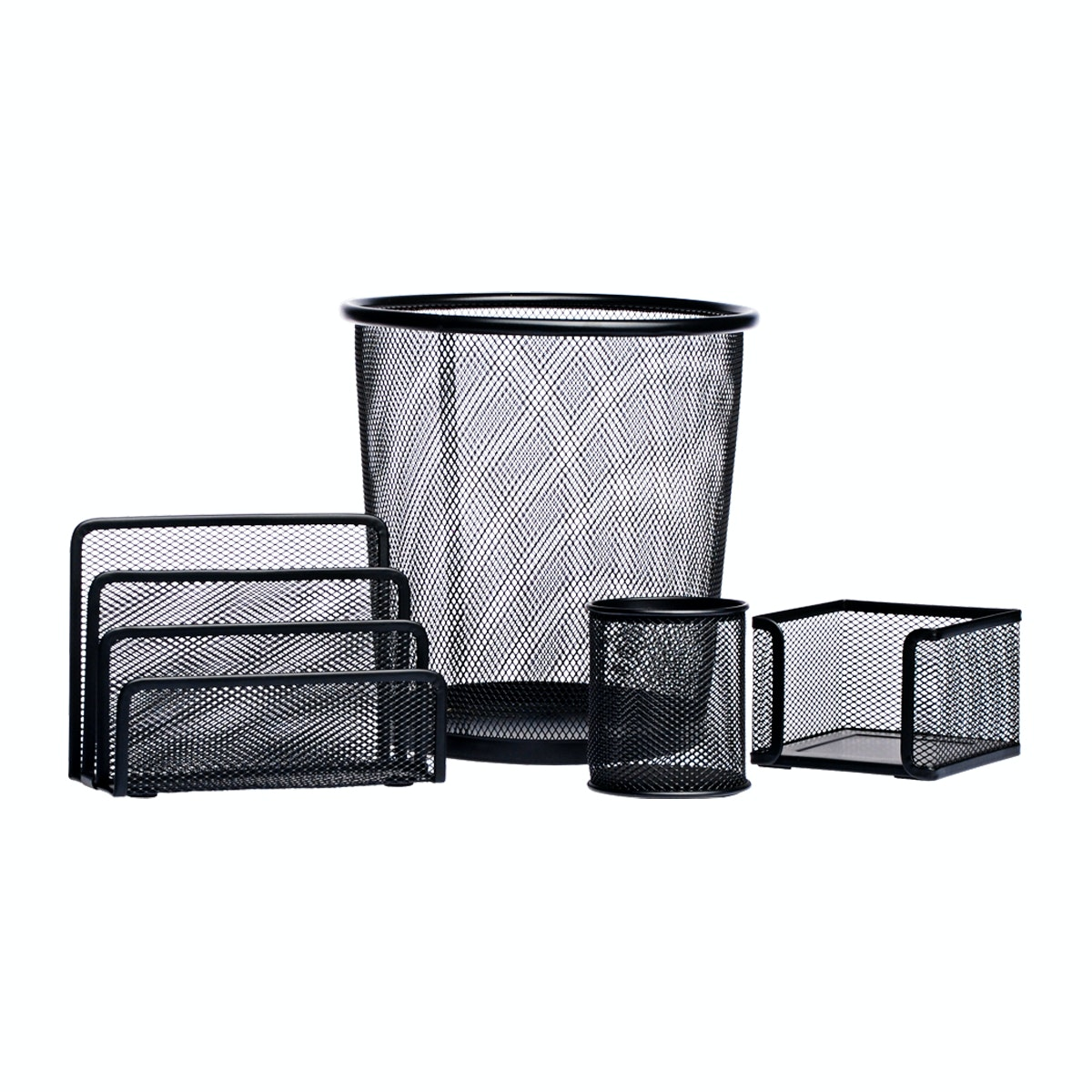 Informa Mesh Organizer Set Of 4 Pcs Bl
