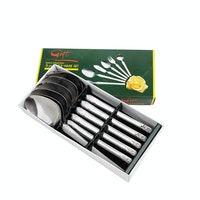Tanica Tanica Flora Sendok Set 6 Pieces - Stainless Steel