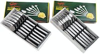 Tanica Tanica Flora Garpu Set 12 Pieces - Stainless Steel