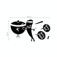 iwallyou Wall Sticker Hot and Sweet Kitchen Tool