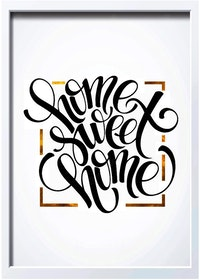 iwallyou Wall Poster Home Sweet Home