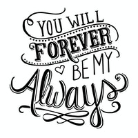 iwallyou Wall Sticker Forever Love