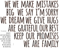iwallyou Wall Sticker Wording Staircase Family