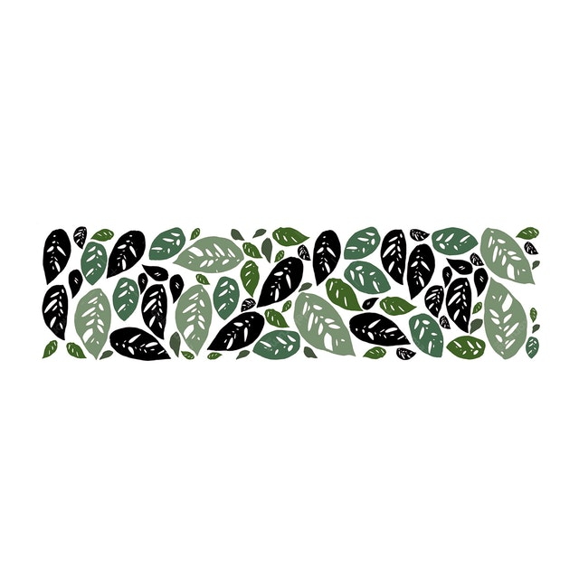 Codeco Wall Sticker Obiliqua Leaves