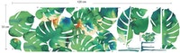 iwallyou Wall Sticker Water Color Monstera#1