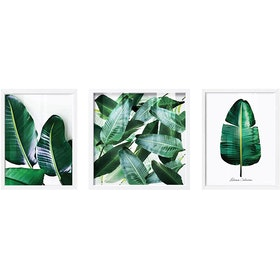 iwallyou Poster Set Tosca Banana Leaves