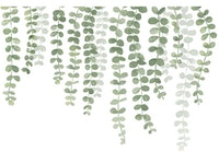 iwallyou Wall Sticker Hanging Plant