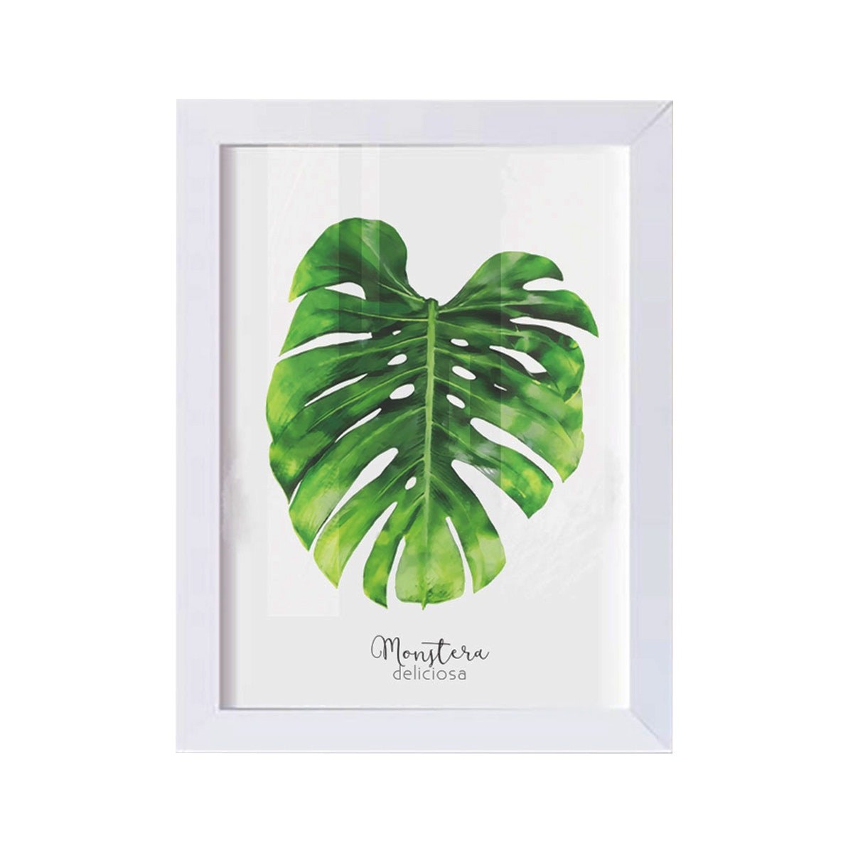 iwallyou Poster Greenery Monstera Leaf