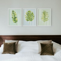 iwallyou Poster Set Tropical Leaves