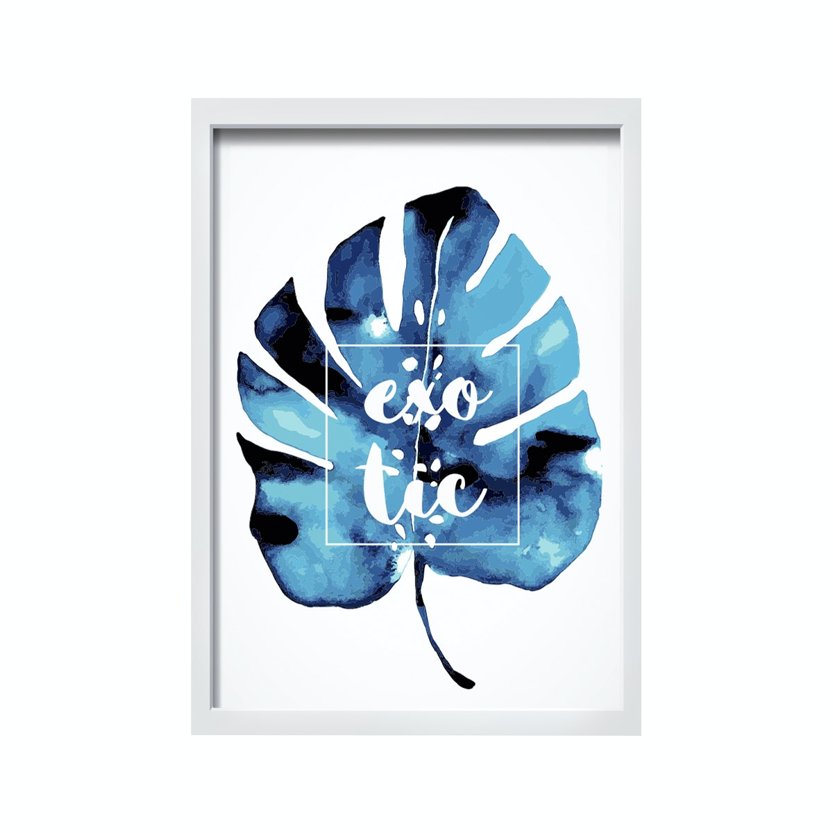 iwallyou Exotic Monstera Wall Poster