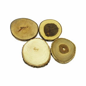 Izemu Eda Tree Branch Coaster Set 4