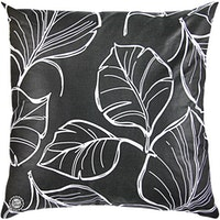 Eolins Cushion Cover 50x50cm Leaf Black JSPS5022