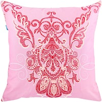 Eolins Cushion Cover 50x50cm Peacock Two Side JSPS5028