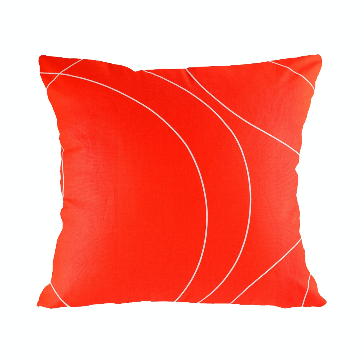 Eolins 2pcs Sarung Bantal Sofa Strings JSPS080 40x40cm Orange