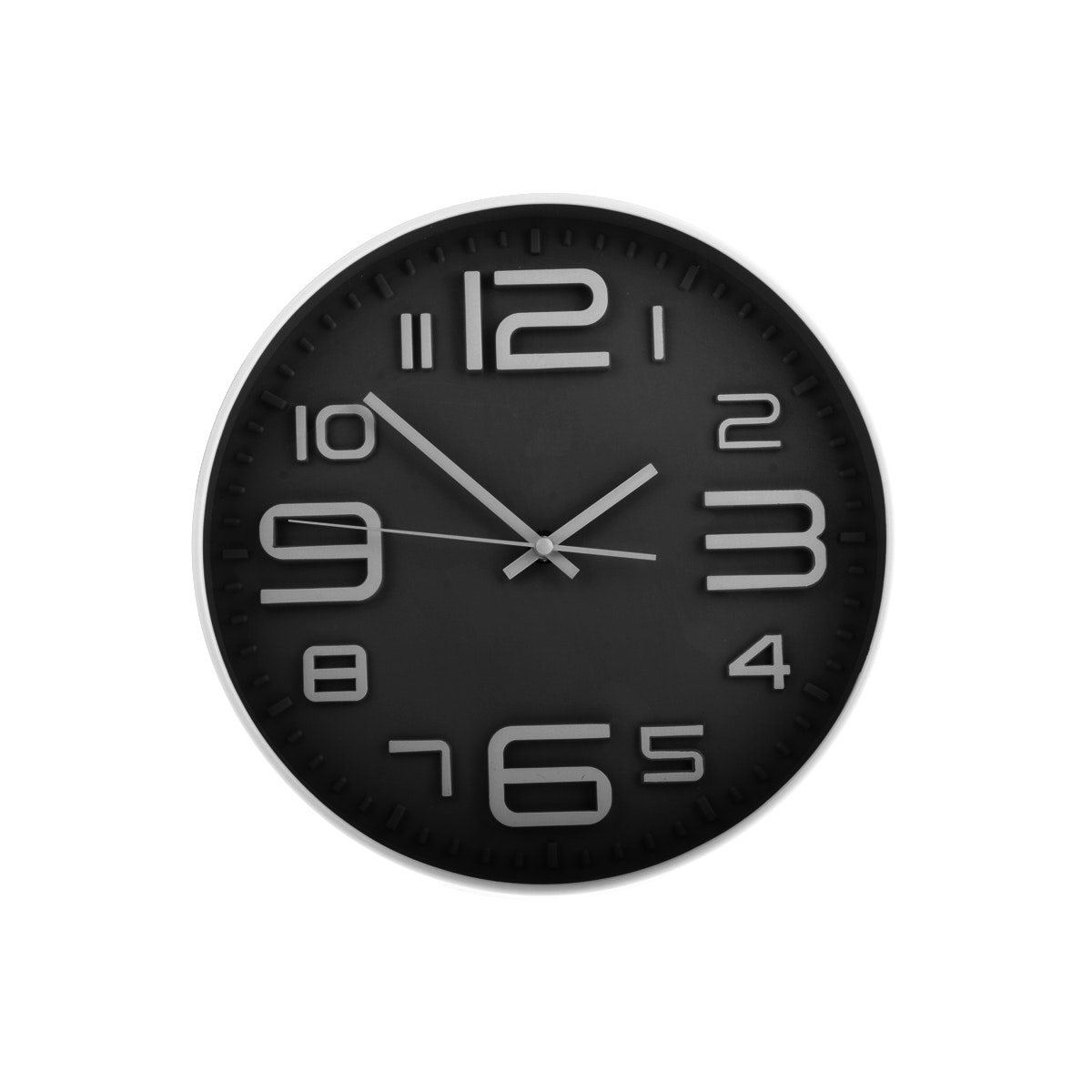 JYSK Wall Clock Black 18466 B