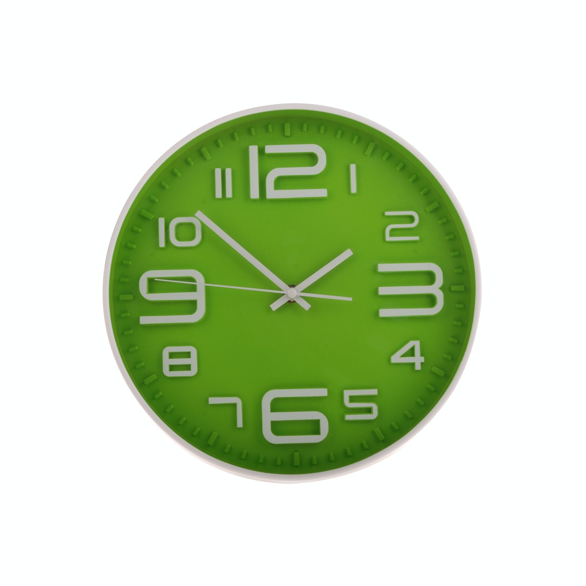 JYSK Wall Clock Green 18466 B