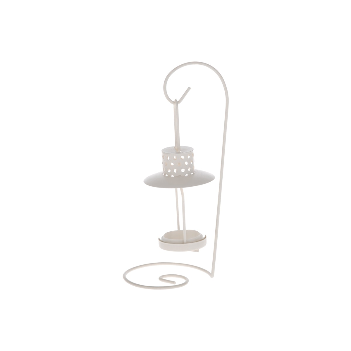 JYSK Candle Holder,Milk White 7317-D