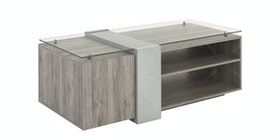 JYSK Coffee Table Kronen 120X60X45Cm Sanremo Dark