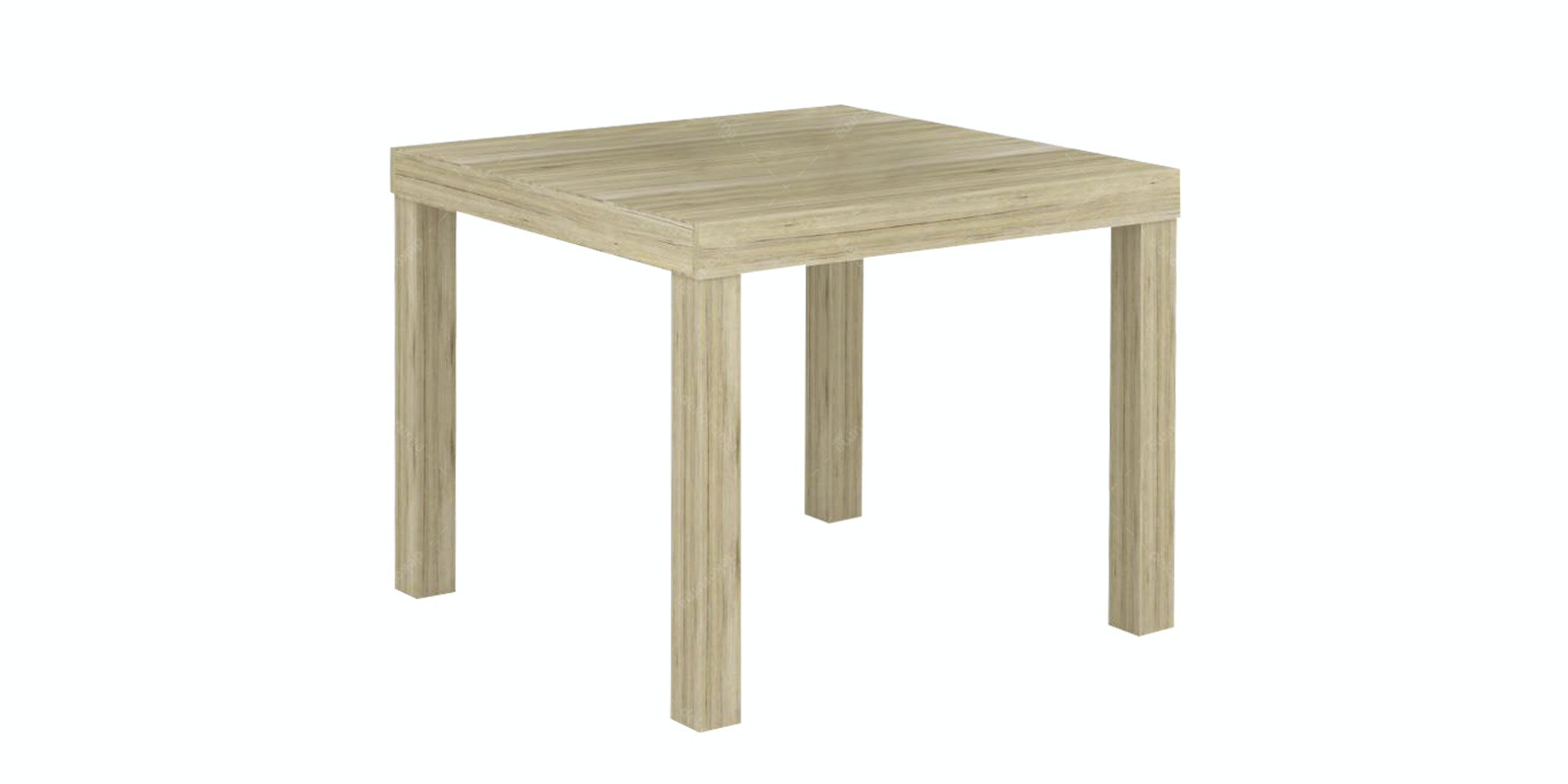 JYSK End Table Køge 50X50X41Cm Sanremo Oak
