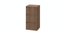 JYSK Bookcase Door 3Shelves Lixil 44X39X39Cm Walnut