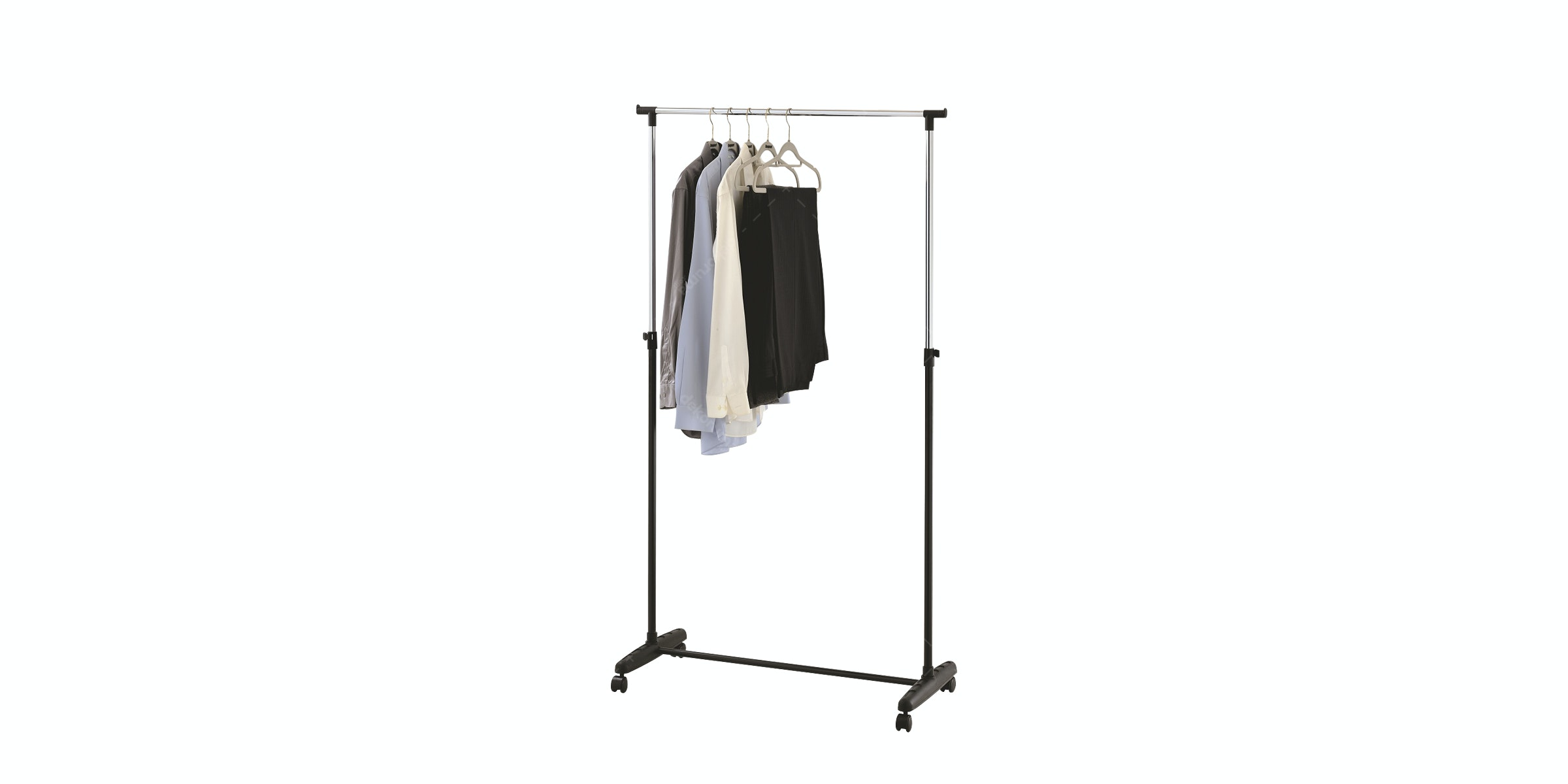 JYSK Clothes Rail Jerslev 89X38X167Cm Metal Black