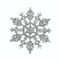 JYSK Xmas Snowflake Pendent 17F403 Assorted