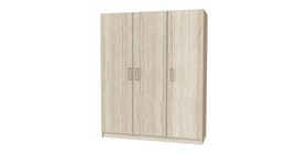 JYSK Wardrobe Price Star 3 Doors 145x50X176cm Oak