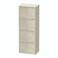 JYSK Acacia Bookcase Door 4Shelves Canute 42x29x116cm Acacia