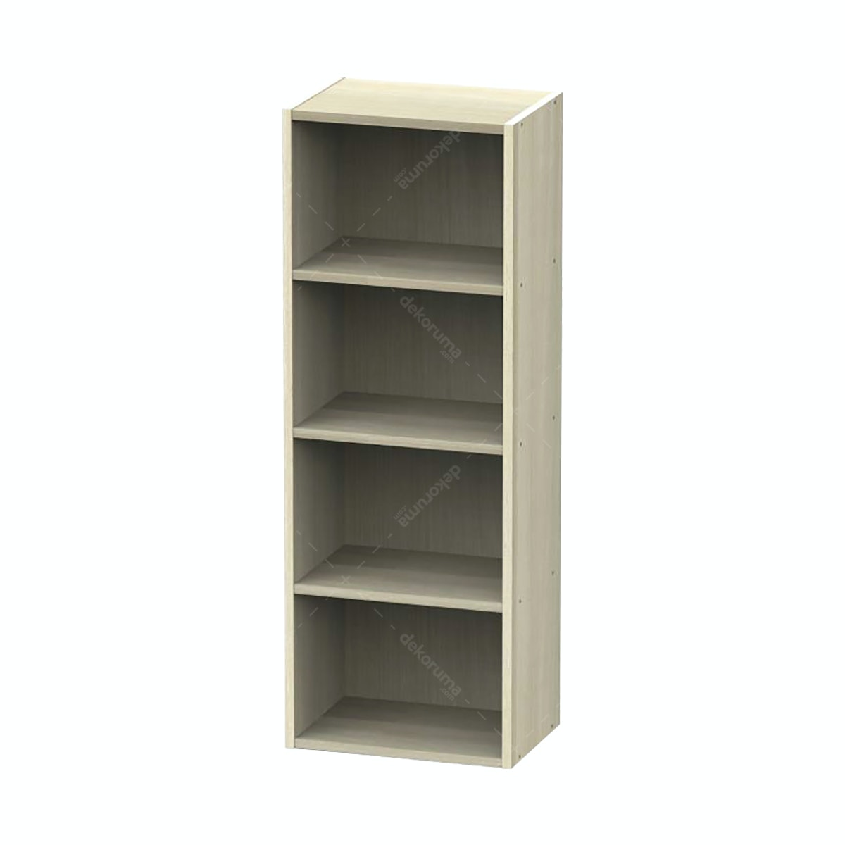 JYSK Bookcase 4 Shelves Canute 42X29X116CM Acacia