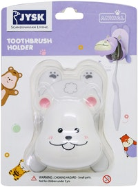 JYSK Toothbrush Holder Animal W/ Sticker Assorted