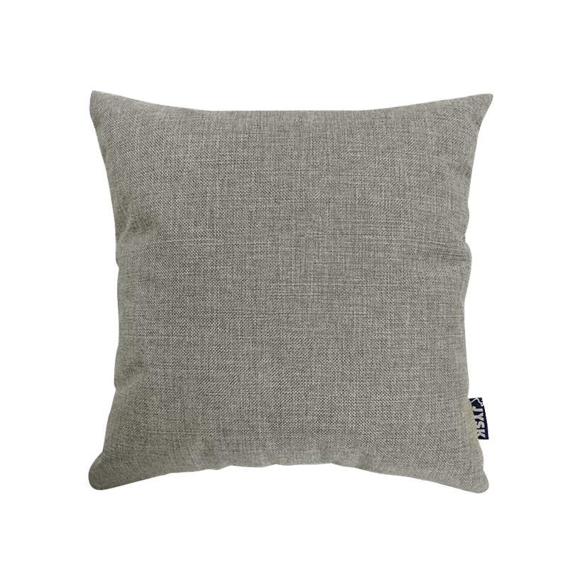 JYSK Cushion Cover Solid Fake Linen Light Grey 40X40 Cm