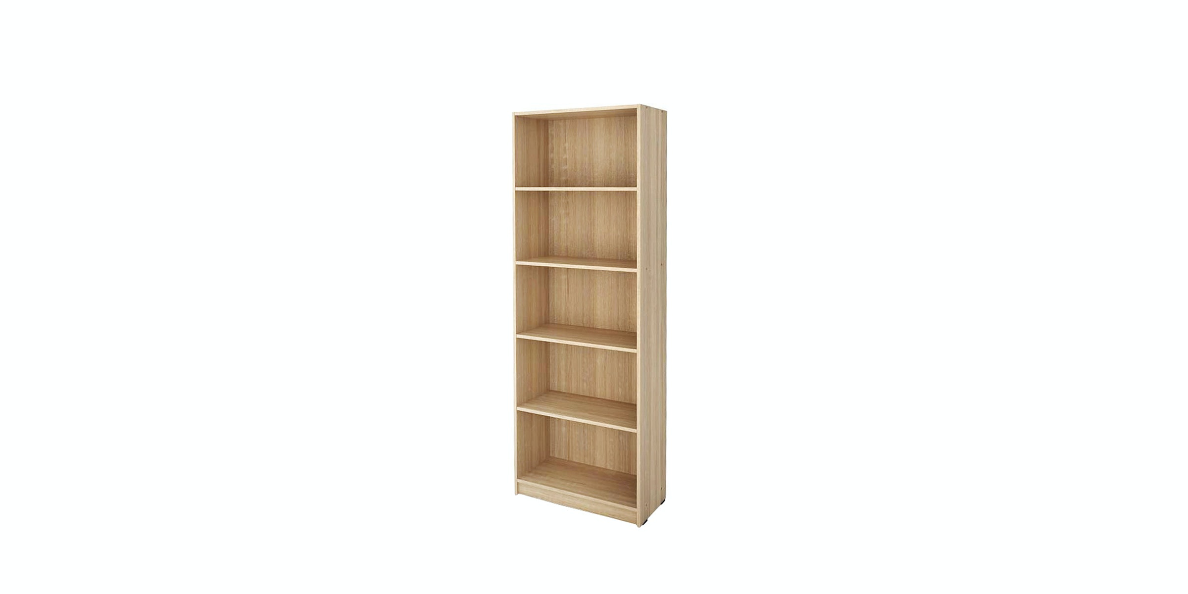 JYSK Bookcase 5 Shelves GISLINGE - Rak 5 Susun Oak