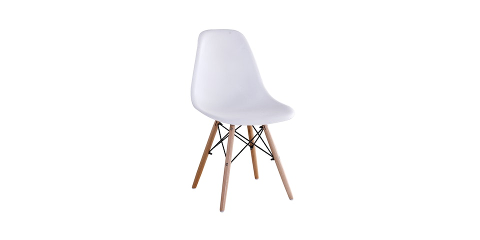 JYSK Dining Chair Begiven White