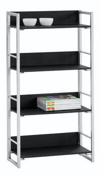 JYSK Bookcase 4 Shelves Gelsted 61X29X128CM Black
