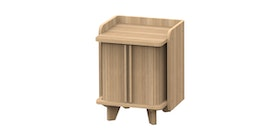 JYSK Bed Side Table Jorgensen 40X40X50 CM Oak