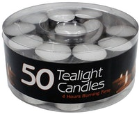 JYSK Tea Lite Candle (Lilin) isi 50