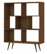JYSK Room Divider Lemari Display Benedikte 120cm Brown