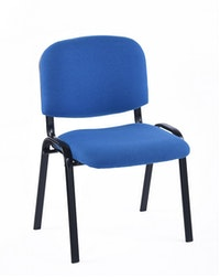 JYSK Kursi Meeting / Kursi Kerja / Meeting Chair Anax Fabric 54X43X84Cm Blue