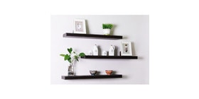 JYSK Floating Shelf Koge 79X26X5Cm - Rak Dinding Black