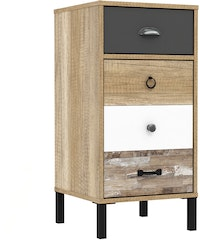 JYSK Chest Drawers 40 Oldy 39X40X80Cm - Lemari Laci Brown