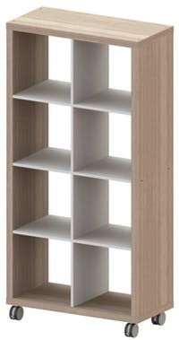 JYSK Rak Display - Room Divider 8 Shelves Koge 81X39X156Cm Sonoma Oak
