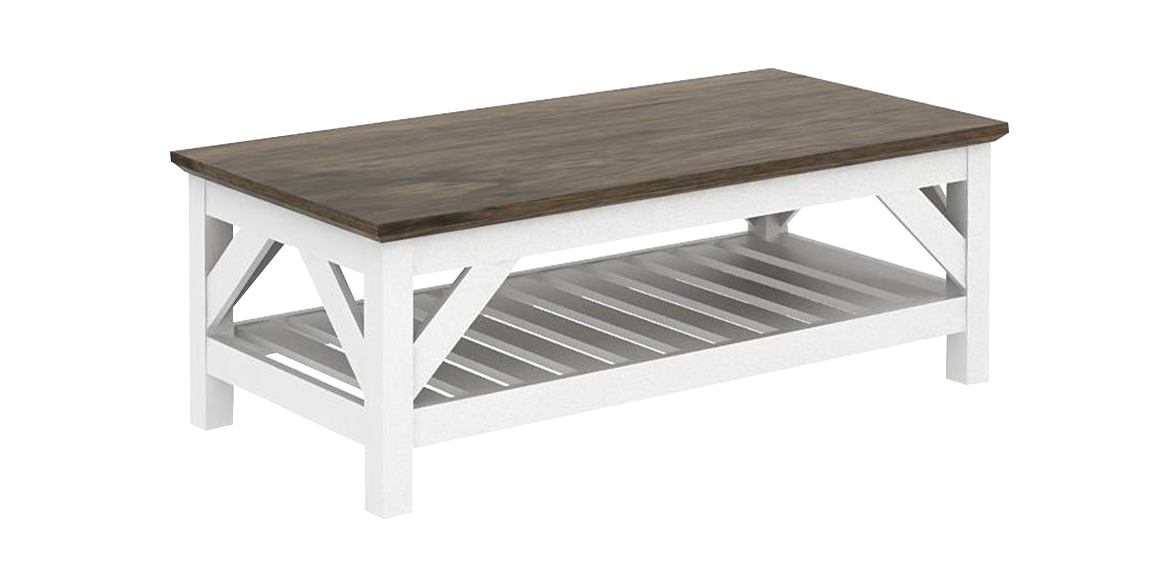 JYSK Coffee Table Helen 120X60X45Cm Oak White